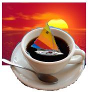 coffee sailing
