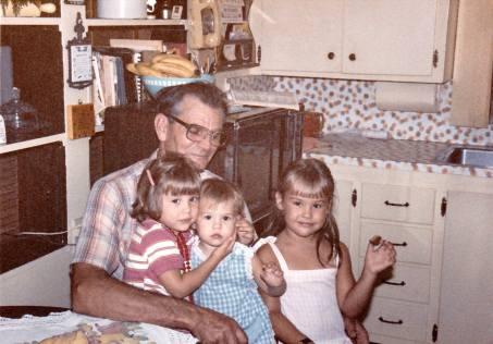 papa and us